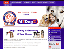 Tablet Preview of midogzone.co.za